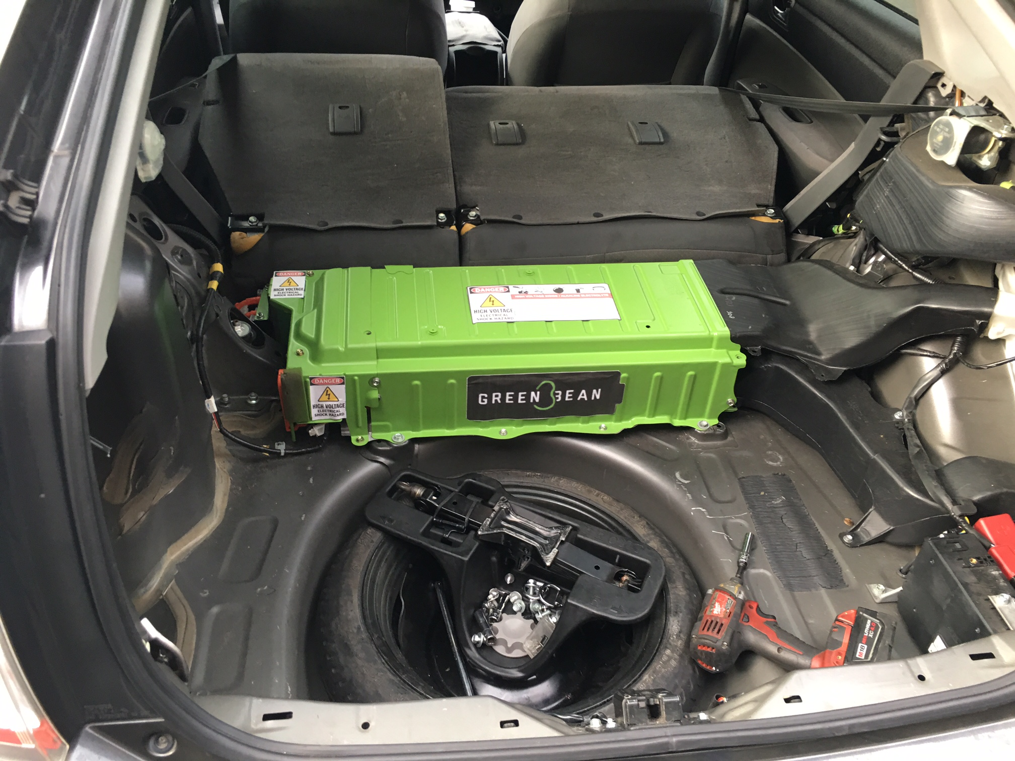 Honda Civic Hybrid Car Battery